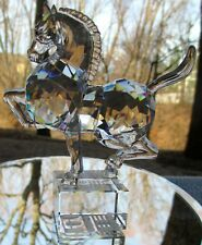 Swarovski Crystal Chinese Zodiac Horse Figurine Mint and New in Box