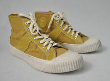Visvim Leisee Lamina Studded Golden Yellow Shoes 11 Mens New