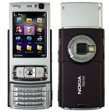 Nokia N95 - Deep Plum (Unlocked) WiFi 3G GPS 5MP CELL PHONE Free Shipping