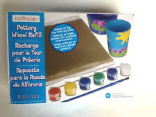 NEW - Pottery Wheel Modeling Clay Refill Kit by Creatology