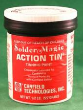 Canfield Solder Magic Action Tin for Stained Glass Tinning Paint