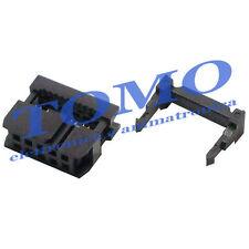 Connettore femmina IDC per flat cable cavo piatto 10 poli 2 pezzi IDC-10-F