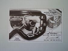 advertising Pubblicità 1976 OCCHIALI BARUFFALDI