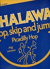CHALAWA hop skip and jump 12INCH 45 RPM HOLLAND EX