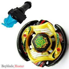 Fusion METAL Beyblade Masters VULCAN HORUSEUS BB-P01+BLUE STRING LAUNCHER+GRIP