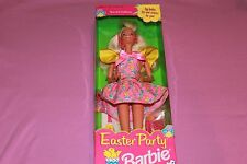 Special Edition Easter Party Barbie Doll w/ Egg holder & dye by Mattel