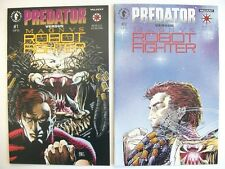 PREDATOR vs MAGNVS ROBOT FIGHTER, #'s 1-2 (RARE MINI-SERIES, 1992/93) NM/MT