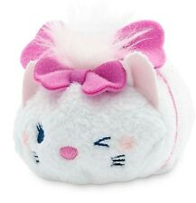 "DISNEY TSUM TSUM 3.5"" MINI MARIE THE ARISTOCATS MICKEY MOUSE & FRIENDS PLUSH NWT"