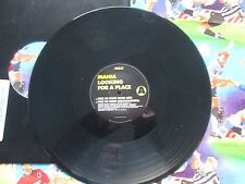 Mania Looking For A Place RCA MANIA 1 promo sticker UK Vinyl 12inch  Maxi-Single
