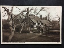 RP Postcard Stratford On Avon - Shakespeare Anne Hathaway Cottage: Orchard #S260