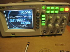 Rigol DS1052E Digital Oscilloscope 50MHz 1 GSa/S 2 Channels Plus USB Storage
