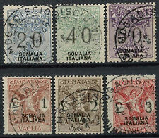 Italian Somaliland 1926 Money Order Used Set #A92305