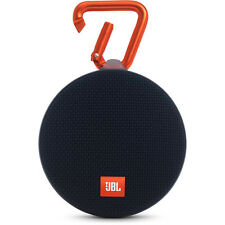 New JBL Clip 2 Waterproof Portable Bluetooth Speaker (Black)