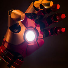 CATTOYS Tony Stark Iron Man Mark 42 1/1 Hand Armor Auto Light Up Laser Cosplay