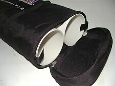 "Double Fishing Rod Case & Storage Tubes 4"" Diameter x 37"" Heavy Duty PVC Core"