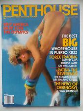 Penthouse August 1988, Lisa Aiton, Joni Carter, Michelle Wishon, Kascha Papillon