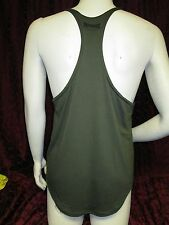 Physique Bodyware Soft Y-Back Stringer tank top Army Green (S)