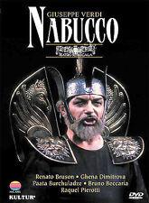 Verdi - Nabucco / Muti, Bruson, Dimitrova, Burchuladze, Becaria, Pierotti, La Sc