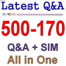 Cisco Best Practice Material For 500-170 Exam Q&A PDF+SIM