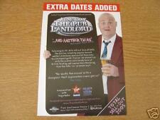 Flyer: Al Murray 'The Pub Landlord'  Rare 2006 UK Tour