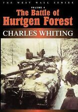 New The Battle of Hurtgen Forest by Charles Whiting (2000, Hardcover) germany WW