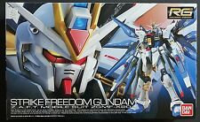 BANDAI RG No.14 1/144 ZGMF-X20A Strike Freedom Gundam scale model kit