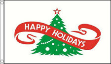3' x 2' Happy Holidays Flag Xmas Banner Merry Christmas Party Celebration Flags