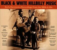 BLACK & WHITE HILLBILLY MUSIC  CD NEU WOODIE BROTHERS/DAVID&HOWARD/+