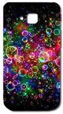 CUSTODIA COVER CASE BOLLE COLORATE BUBBLES COLORS PER LG OPTIMUS L9 II 2 D605