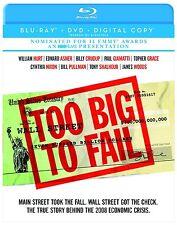 TOO BIG TO FAIL (2011 James Woods, William Hurt) -   Blu Ray - Region free