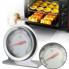 Stainless Steel Oven Cooker Thermometer Temperature Gauge Quality 300ºC New
