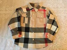 100 % AUTHENTIC Burberry Shirt for Boys size 3Y Retail: $135 ~NWT~