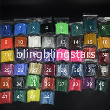 10 Packs 10080 Pcs Dental Orthodontics Elastic Ligature Ties 44 Colors to Choose