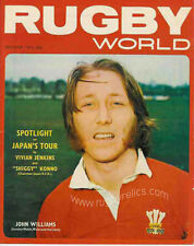 RUGBY WORLD MAGAZINE OCTOBER 1973 - PERFECT GIFT FOR A FAN BORN IN THIS MONTH