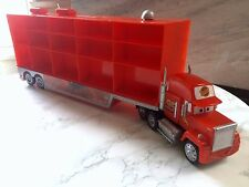 Disney Pixar CARS: Mack Truck Hauler Car Carrier Storage Case (FITS 30 CARS)