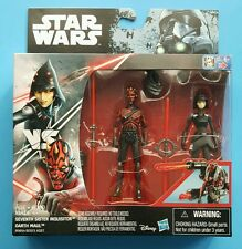 """Star Wars Rogue One Rebels Darth Maul Seventh Sister Inquisitor 2 Pack 3.75"""""""
