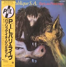 PUBLIC IMAGE LIMITED PARIS IN THE SPRING  LP JAPANESE PRESSING PIL
