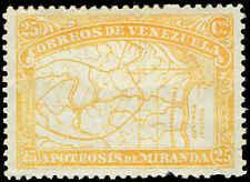 Scott # 139 - 1896 - ' Map of Venezuela '