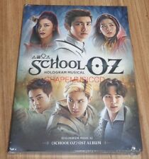 SCHOOL OZ SM HOLOGRAM MUSICAL OST EXO RED VELVET SHINEE f(x) TVXQ CD + PHOTOCARD