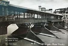 BASSANO DEL GRAPPA - PONTE VECCHIO - 1957