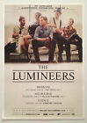 THE LUMINEERS 2014 Australian Tour Poster A2 Hey Ho Winter Big Day Out ***NEW***