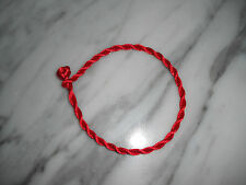 "Kabbalah lucky red string bracelet one size  7.5"" L one size"