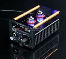 2P2+VMOS Class A Hybrid Tube Amp Headphone Amplifier USB DAC HiFi Pre-Amplifier