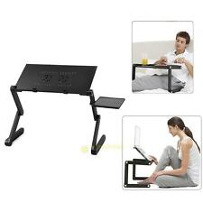 Adjustable Portable Folding Desk Table Stand Bed/Sofa Tray PC/NotebooK/Laptop