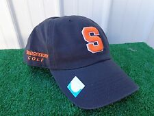 Bridgestone Golf Syracuse University Orangemen NCAA Golf Hat Cap Adjustable NEW