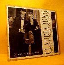 MAXI Single CD CLAUDIA JUNG DUETT MIT RICHARD CLAYDERMAN Je T' aime Mon Amour
