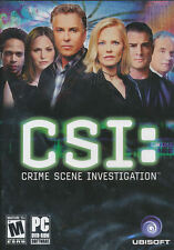 CSI Original Crime Scene Investigation PC Game DVD NEW!