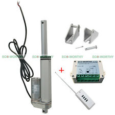 4 inch 12 Volt Heavy Duty Linear Actuator Motor & Remote Control for Car,Sofa