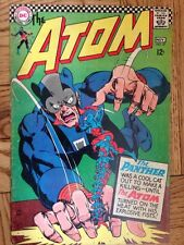 """The Atom #27 (DC, 1966); VG+ """"Beauty and the Beast Gang"""" Time Pool Story"""
