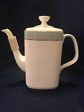 Royal Doulton ETUDE Coffee Pot with Lid - H5003 - Bone China - England